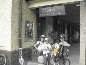 Arrivati a Lienz in Austria bravissime!!
